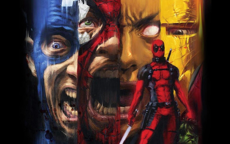Iron Man Captain America Wallpaper - WallpaperSafari Deadpool Vs Spiderman Wallpaper 1920x1080