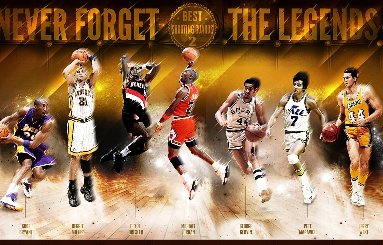 Wallpaper Sport Basketball Michael Jordan NBA Kobe Bryant 1332x850