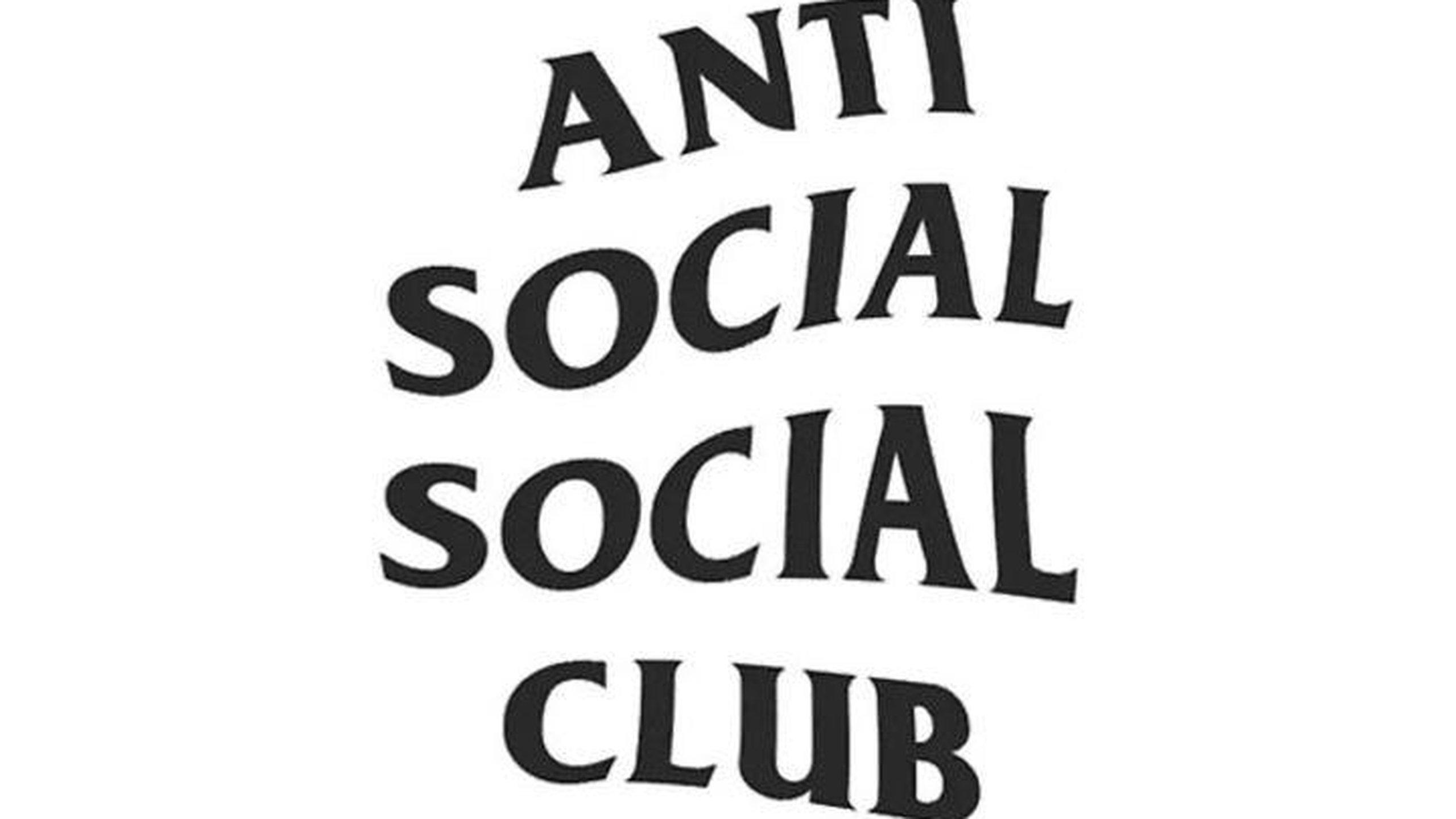 Download Black and White Anti Social Social Club Logo Hypebeast 2560x1440