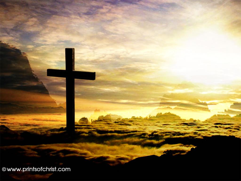 C58 Cross in Clouds Background 1024x768