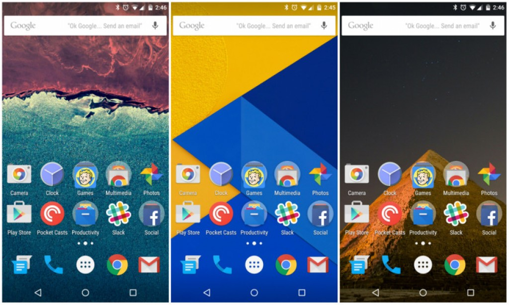 Download Android 60 Marshmallow Wallpapers here AxeeTech 1024x614