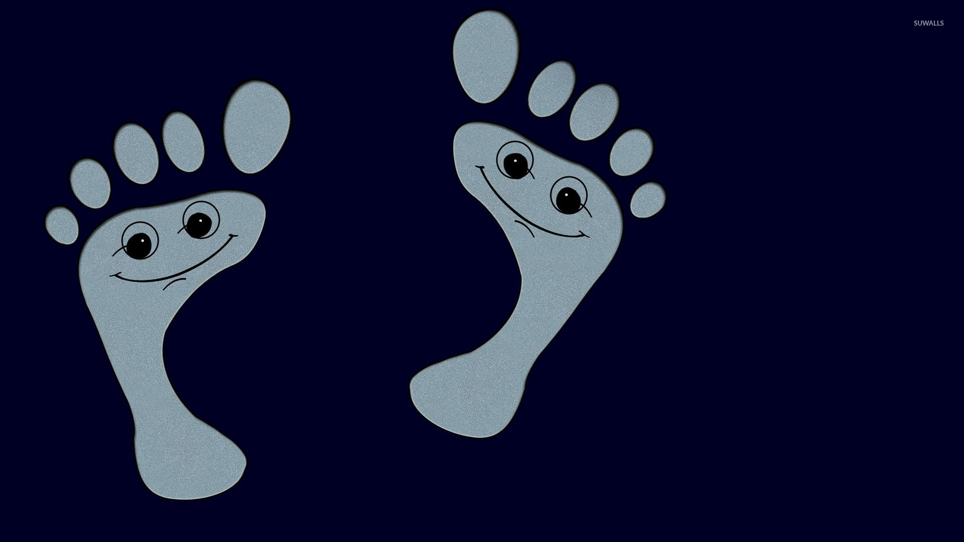 Funny footprints wallpaper   Funny wallpapers   22995 1920x1080