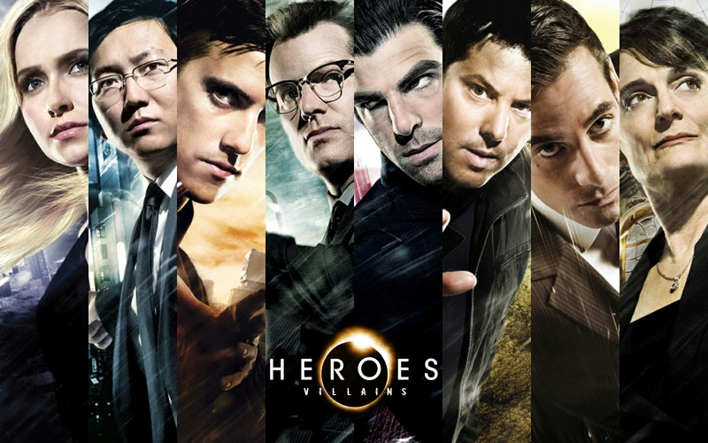 heroes tv series tv posters 1440x900 wallpaper Character Wallpaper 800x500