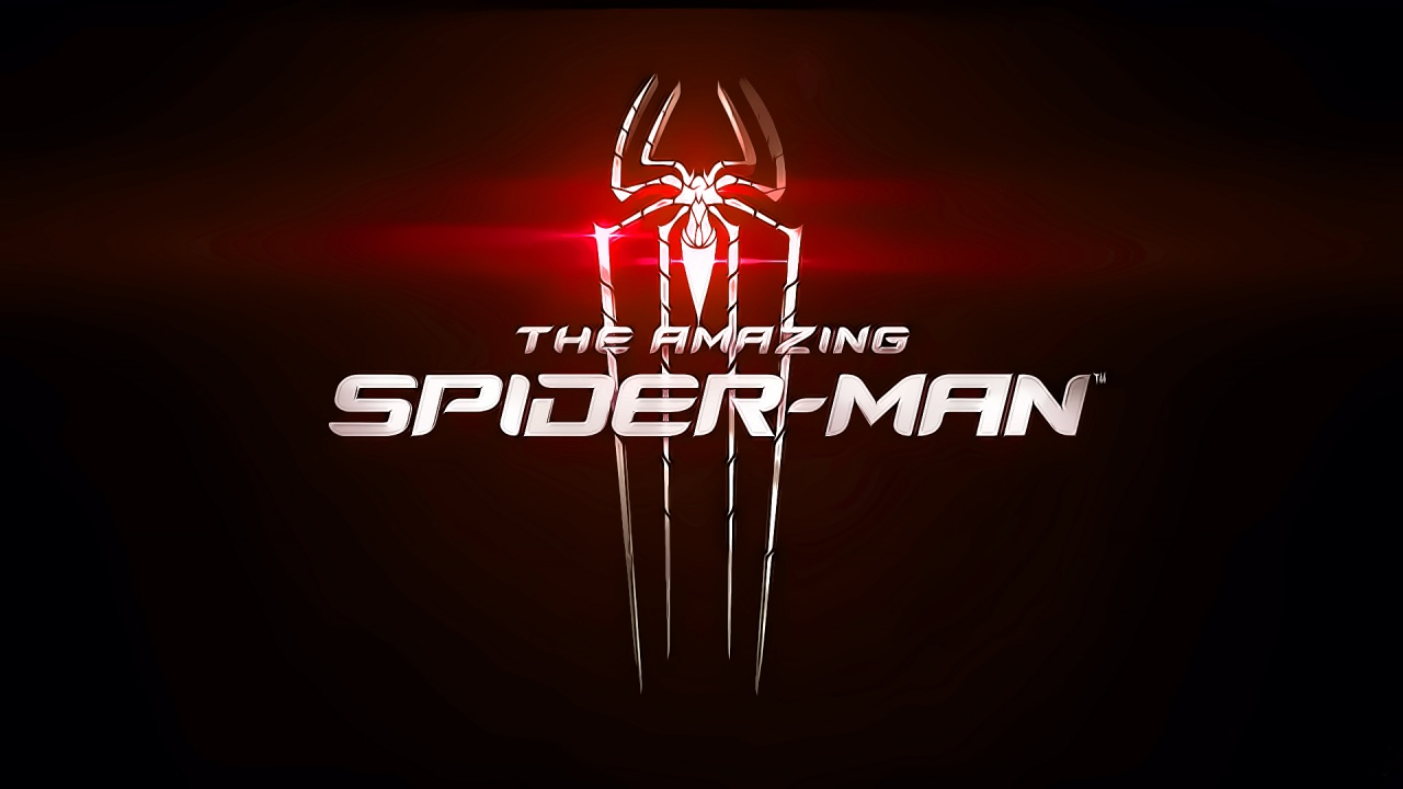1280x720 The Amazing Spider Man Red Logo desktop PC and Mac wallpaper 1280x720
