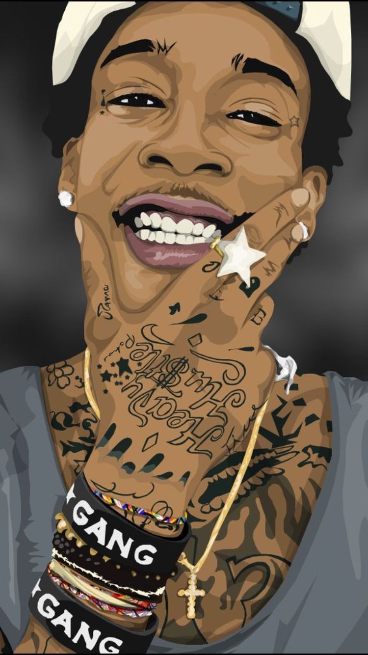 Wiz Khalifa Pop Art Wallpapers   Top Wiz Khalifa Pop Art 750x1334