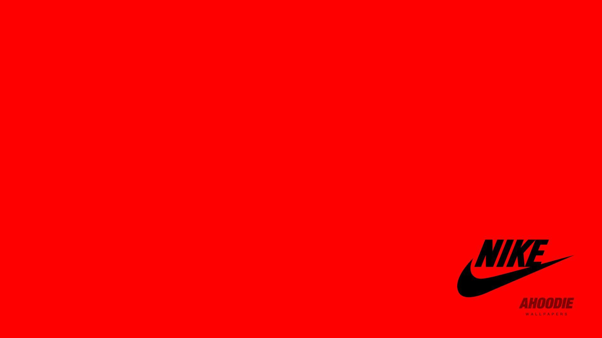 Red Nike Wallpaper 1920x1080