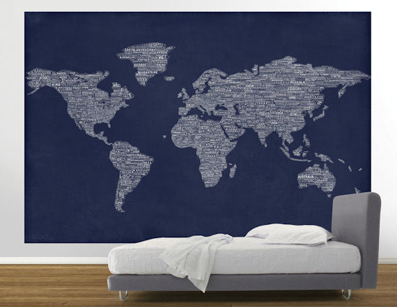 570x441px navy blue removable wallpaper wallpapersafari navy peace and love world map easy up mural wall sticker outlet 570x441 gumiabroncs Choice Image