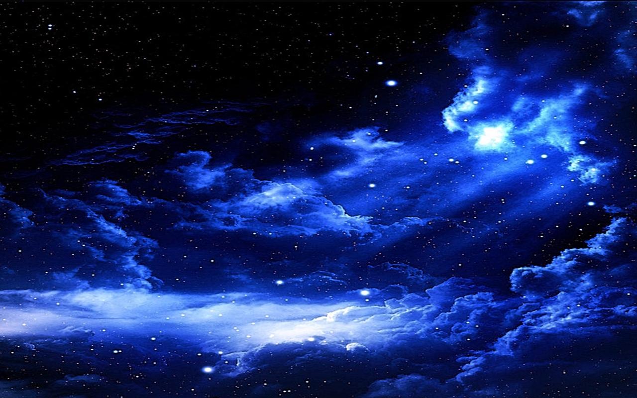 Free Starry Night Sky Wallpaper
