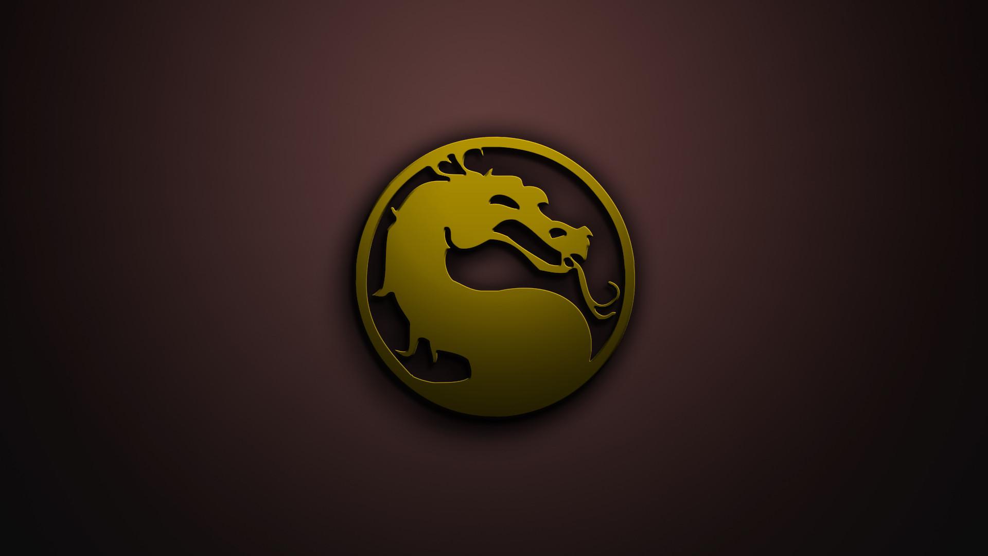 32 Mortal Kombat Logo Wallpapers On Wallpapersafari