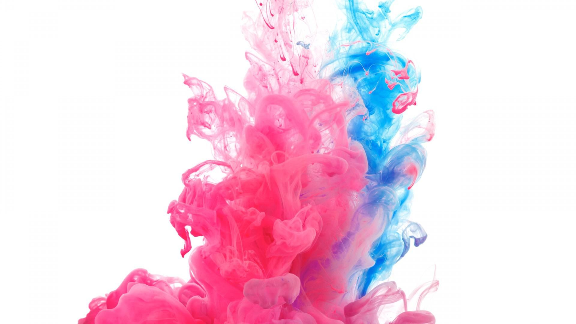 Flying Paint flying paint Holi colors Blue wallpapers Color 1920x1080