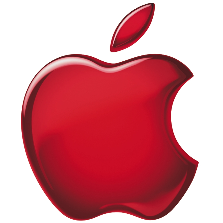 Red apple Ipad3 wallpaper background 1024x768jpg 720x720