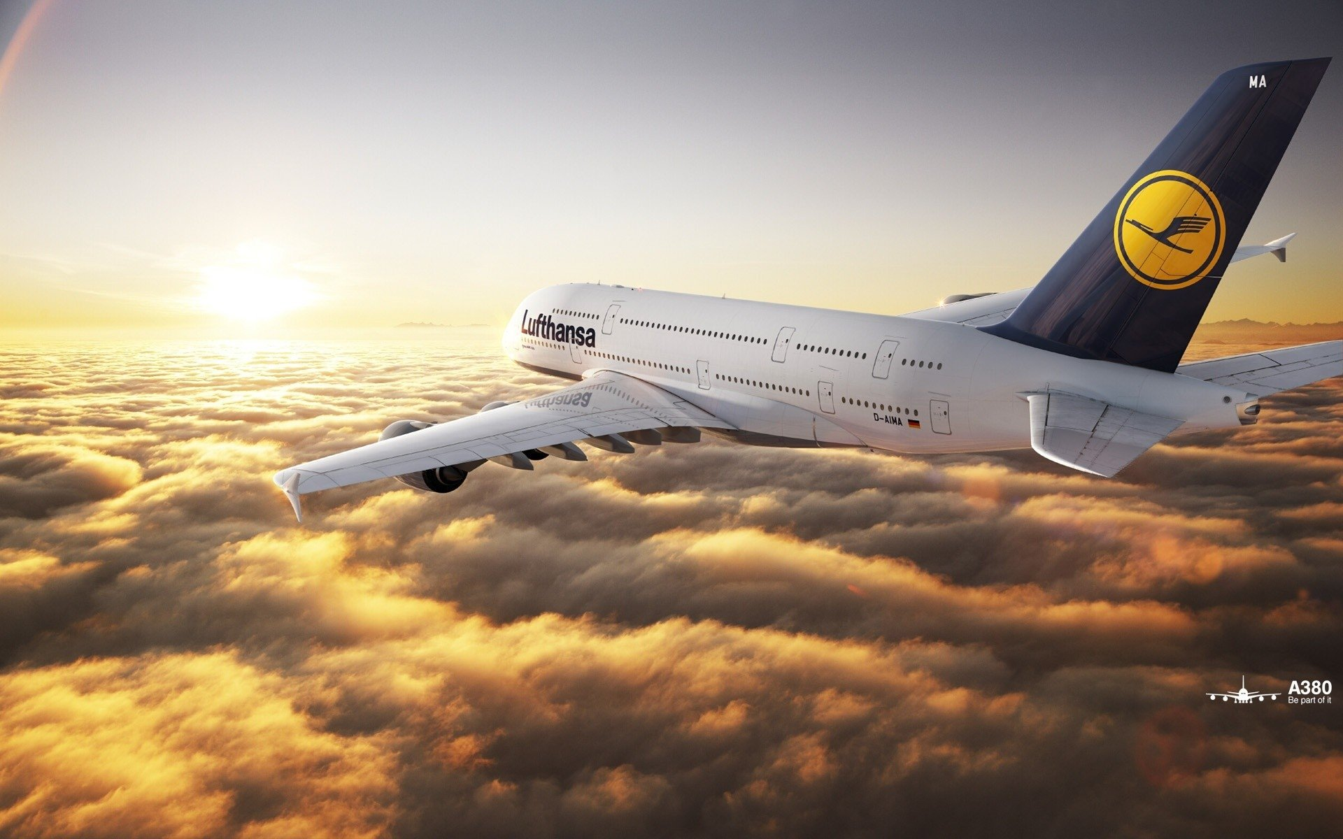 Airbus A380 HD Wallpaper Background Image 1920x1200 ID 1920x1200
