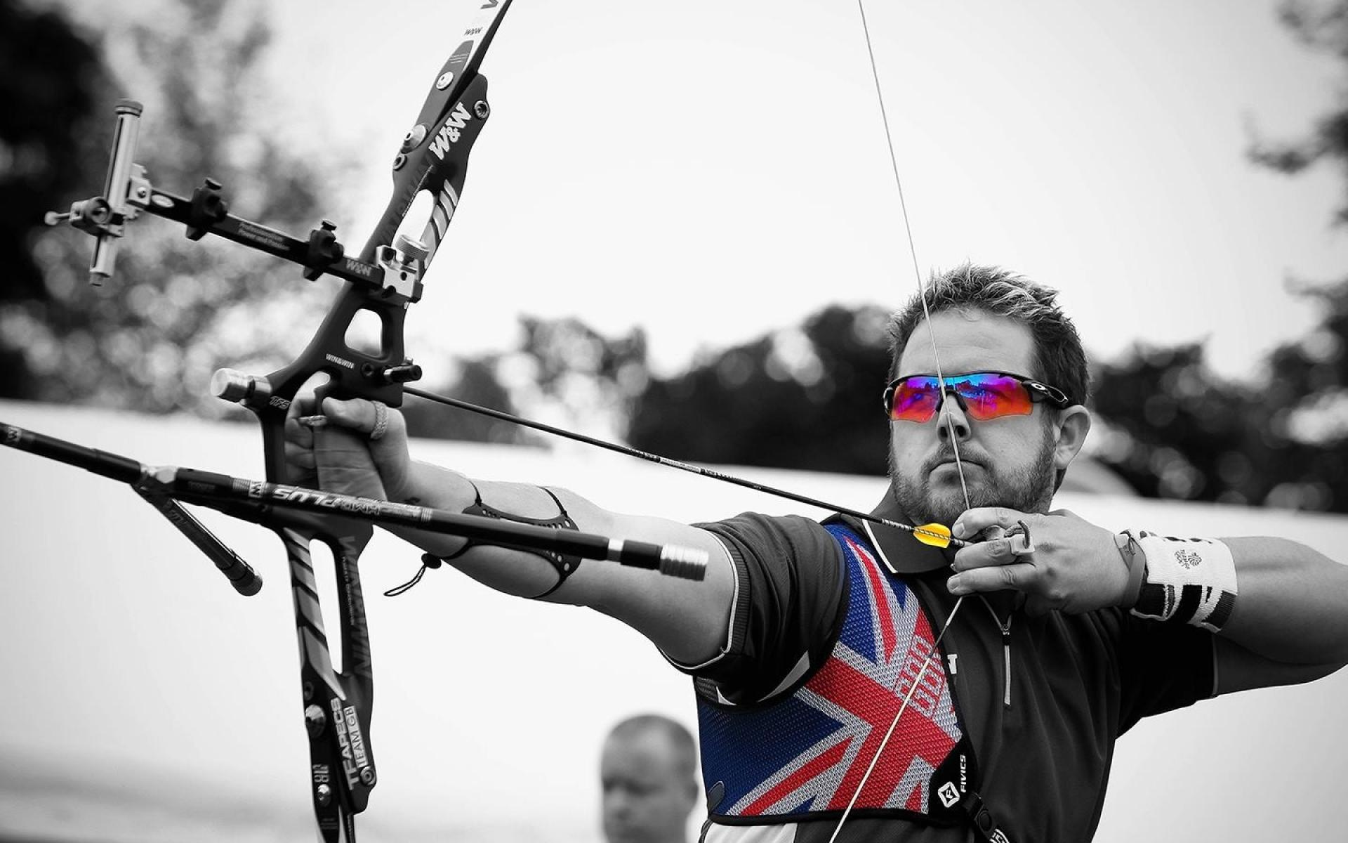 Black and white england bows arrows archery colors wallpaper 178379 1920x1200