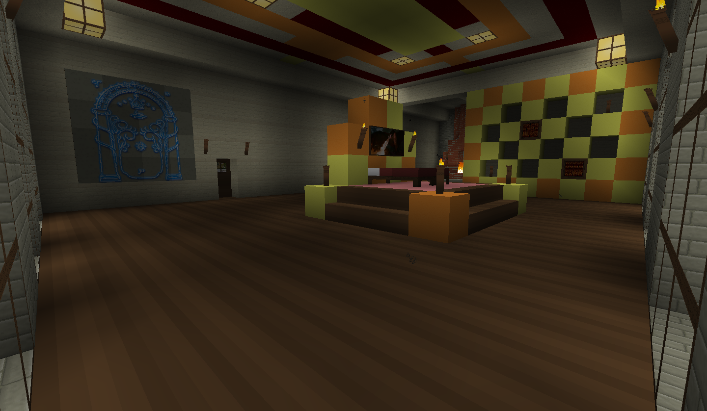 Queen and Kings Bedroom by kyidyl minecraft 1440x838