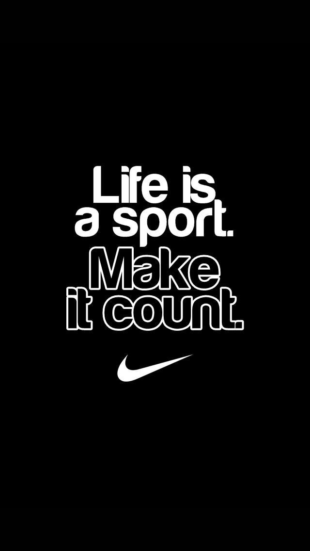 Nike Quote IPhone 5 Wallpaper 640x1136