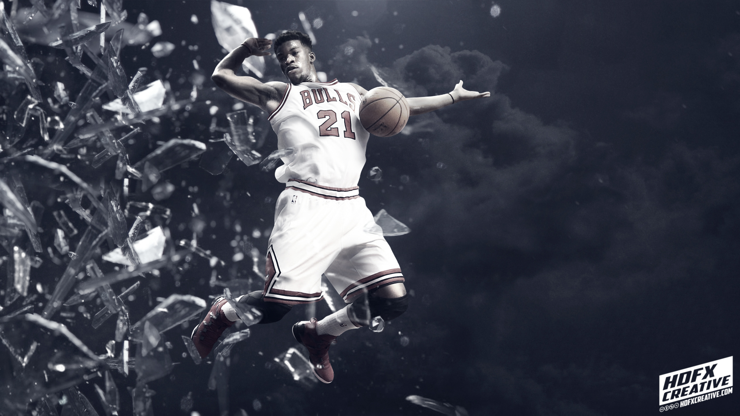 Jimmy Butler Bulls Best Quality Wallpapers 2560x1440