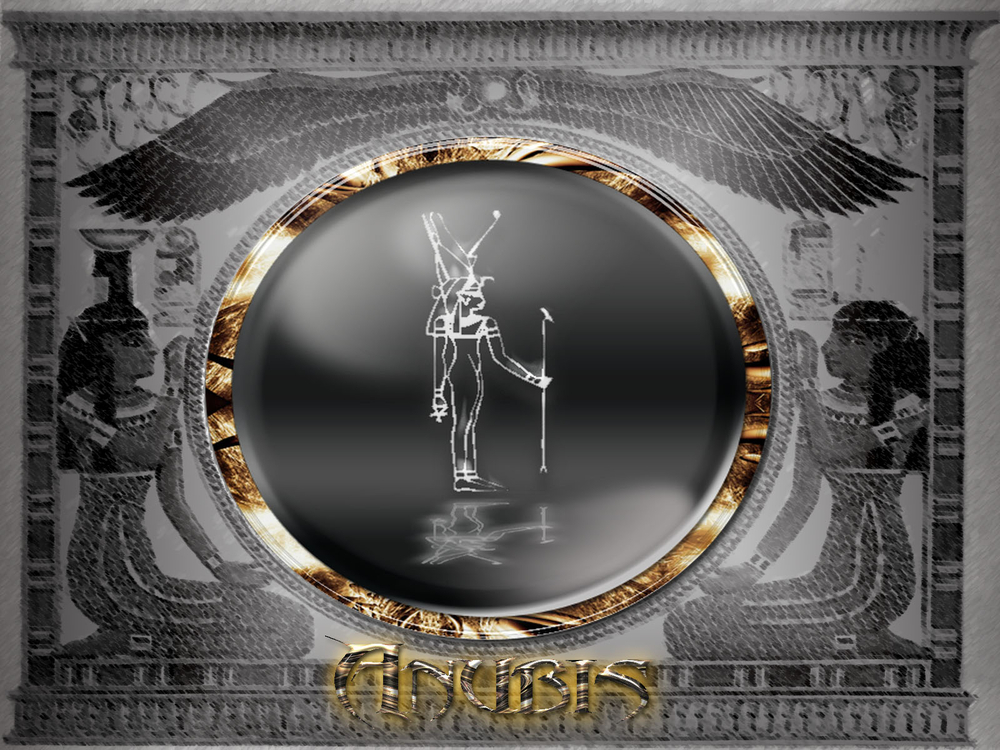 Wallpapers   Anubis Egyptian god of the dead by ButcheN   Customize 1000x750