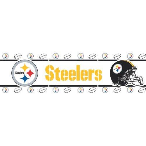 13d7732ec Home Dcor Pittsburgh Steelers NFL Wallpaper Border Home Kitchen 500x500