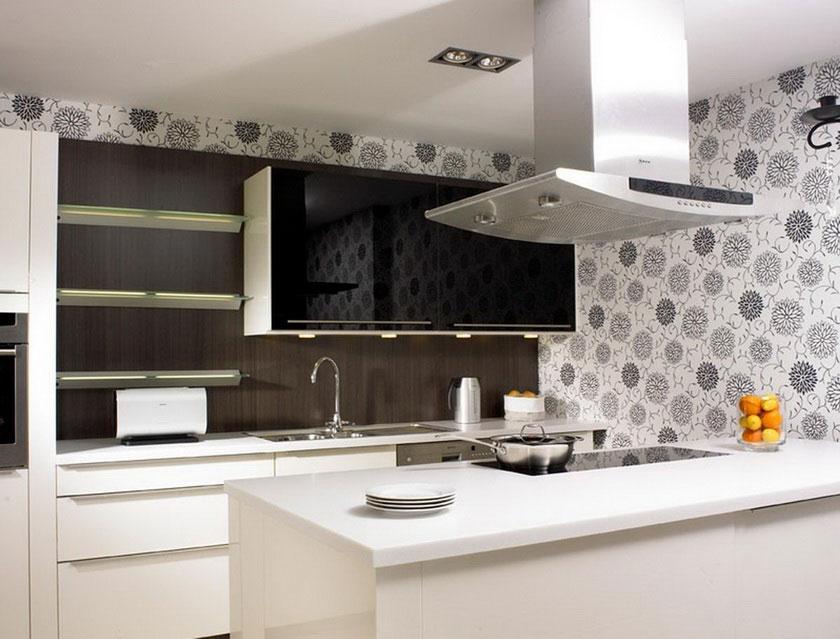 Free Download Wallpaper For Kitchen Backsplash Homesfeed 840x639 For Your Desktop Mobile Tablet Explore 40 Best Wallpaper For Kitchen Wallpapers For Kitchen Kitchen Wallpaper Ideas Images Of Kitchen Wallpaper