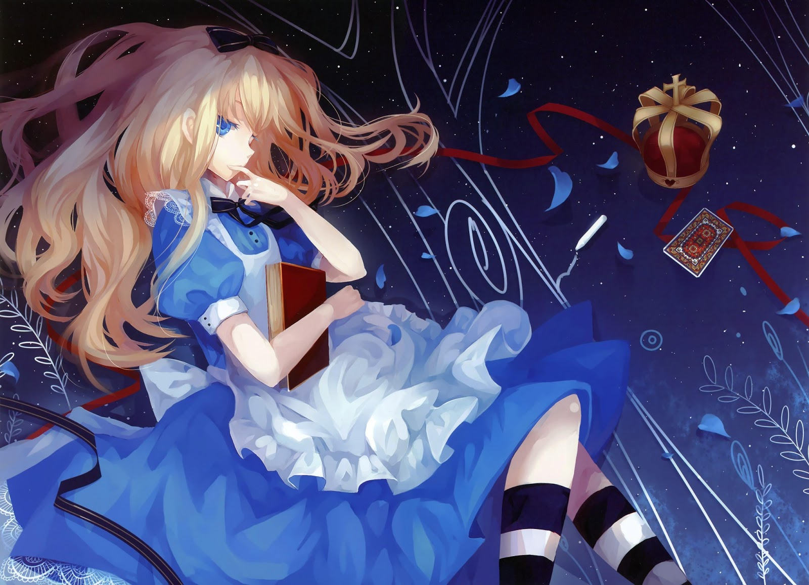 Free Download Alice In Wonderland Desktop Wallpapers 1600x1157