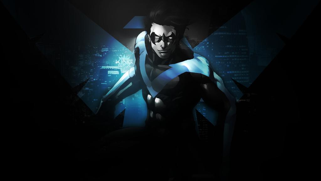 Nightwing Wallpaper by WHU Dan 1024x576