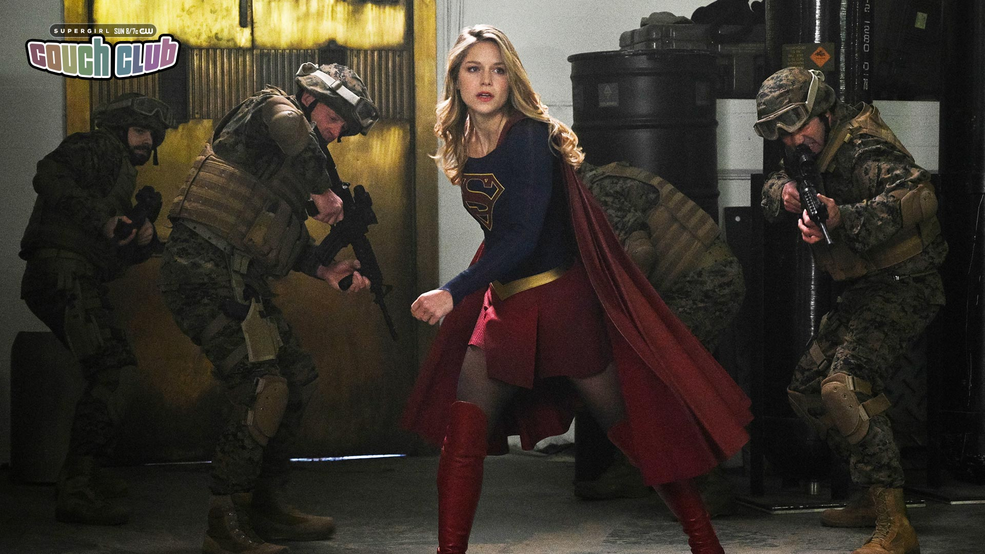 Supergirl Whats So Funny About Supergirl vs the Elite DC 1920x1080