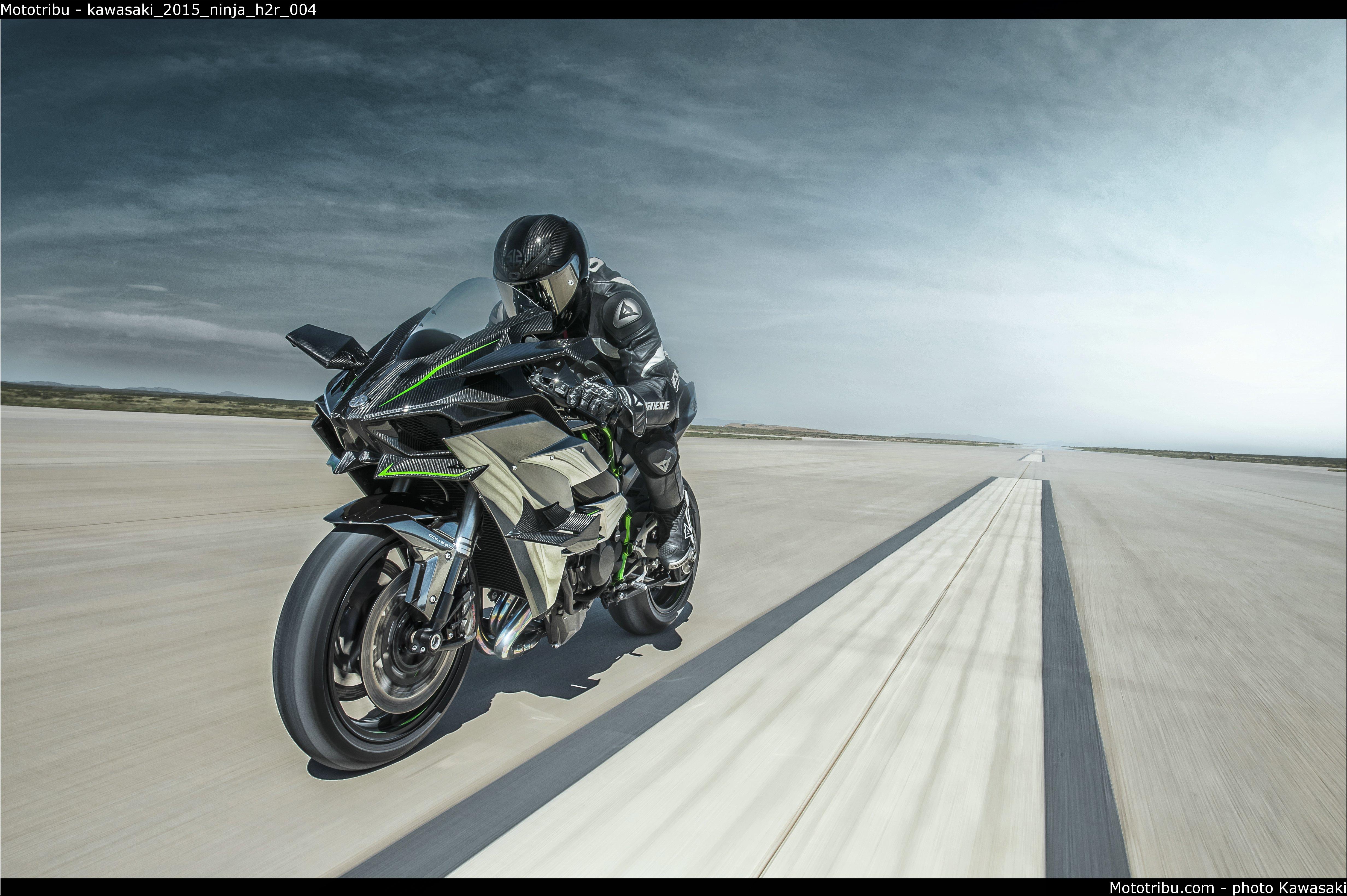 Kawasaki H2R Wallpaper - WallpaperSafari