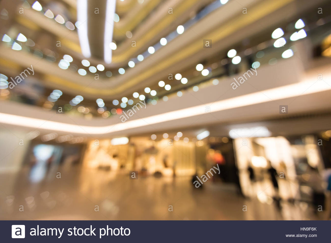 Blurred Shopping mall backgrounds Stock Photo 133589867   Alamy 1300x956