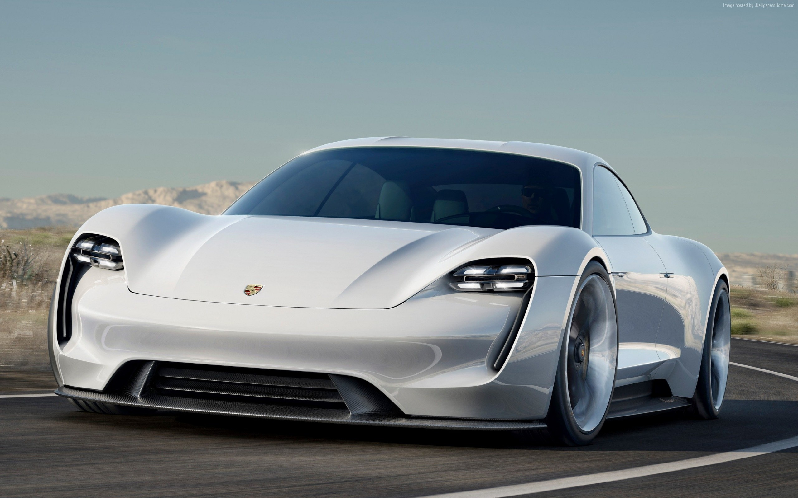 Wallpaper of Porsche Taycan Electric Cars SuperCar 800V 2560x1600