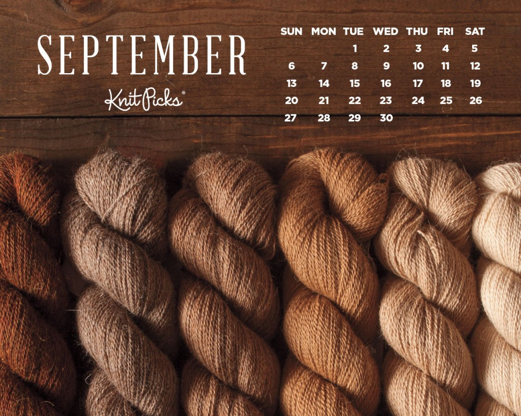 September 2015 Wallpaper Calendar   KnitPicks Staff Knitting Blog 1024x819