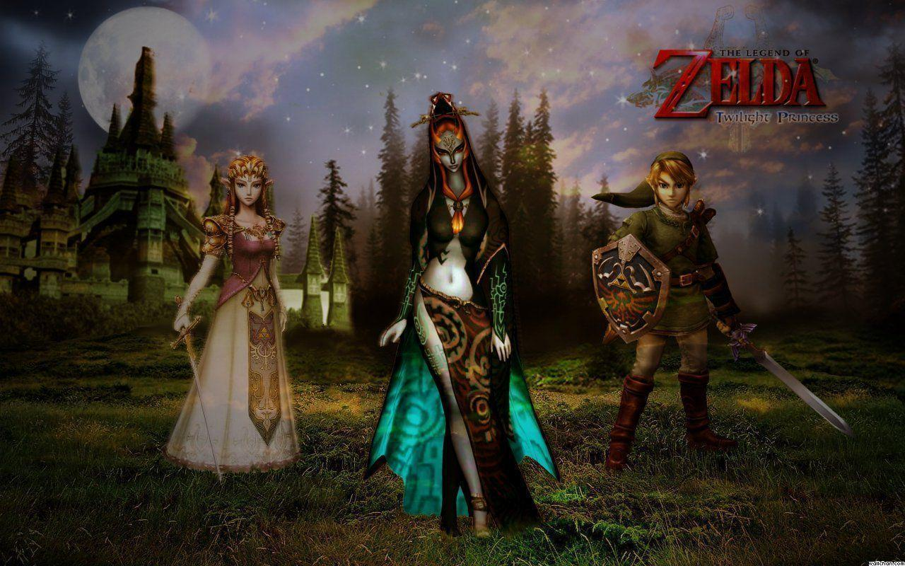 The Legend Of Zelda Twilight Princess Wallpapers 1280x800