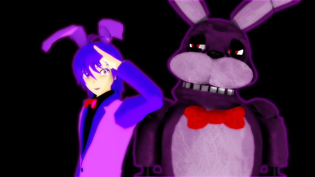Fnaf Golden Bonnie Human fnaf bonnie wallpaper ver2 Download 1024x576