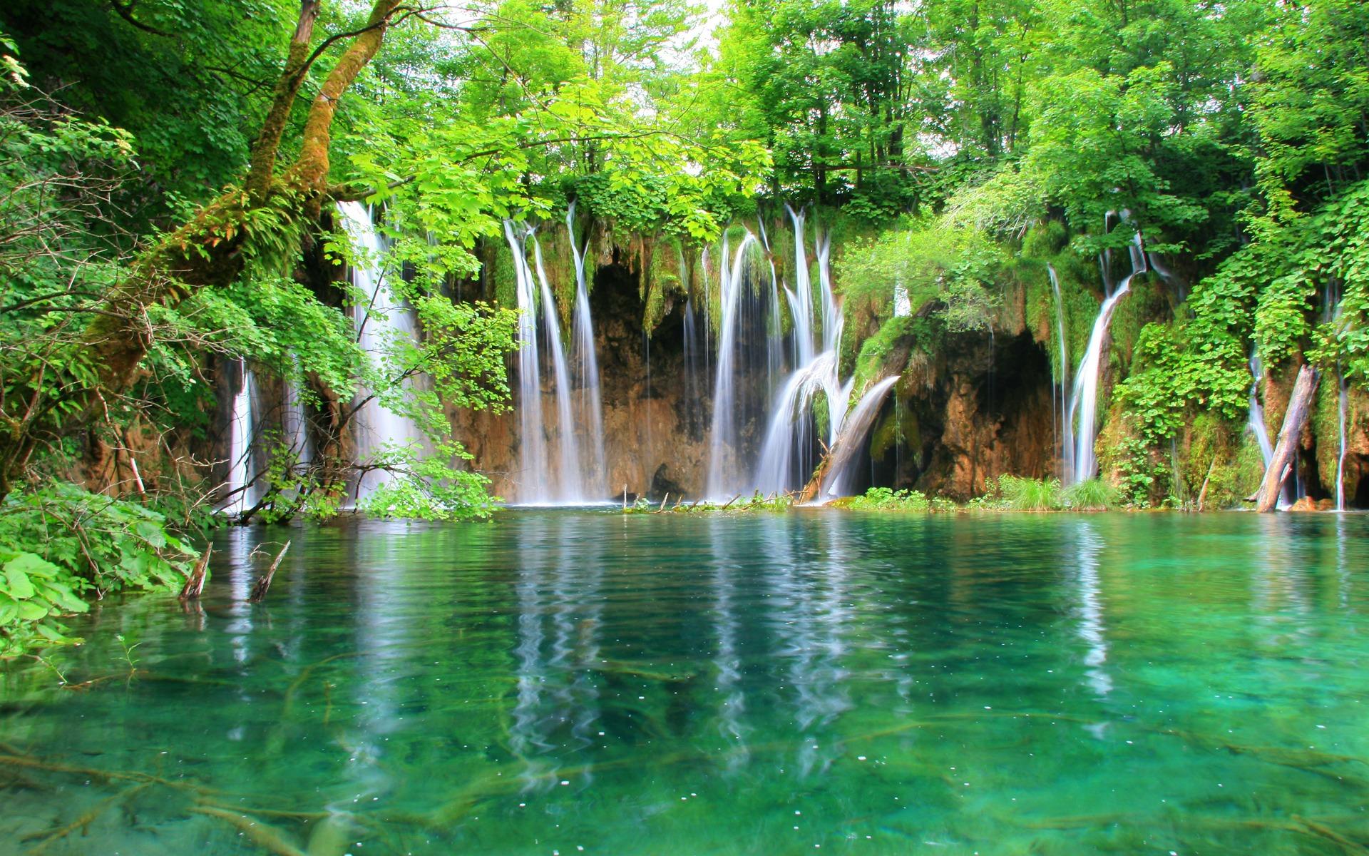 Download Emerald Flows Wallpaper Rivers Nature Wallpaper 1920x1200 1920x1200