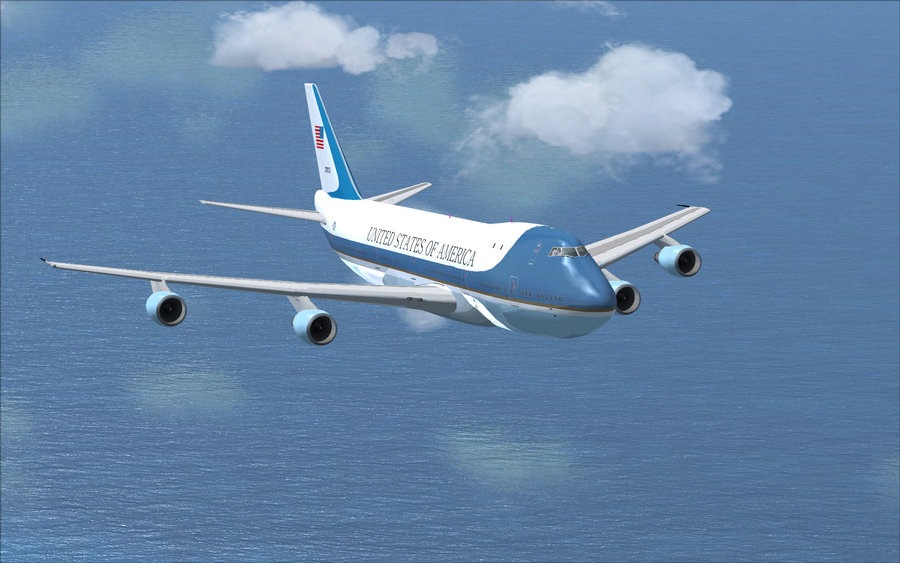 FSX Boeing Air force one by julsscorp 900x563