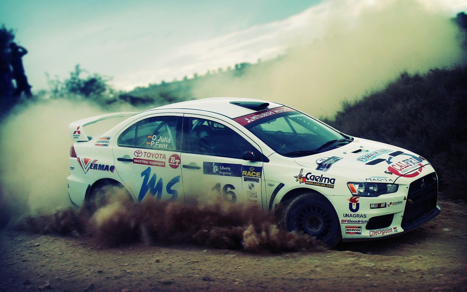 wrc drifting rally cars offroad racing cars wallpaper background 1920x1200