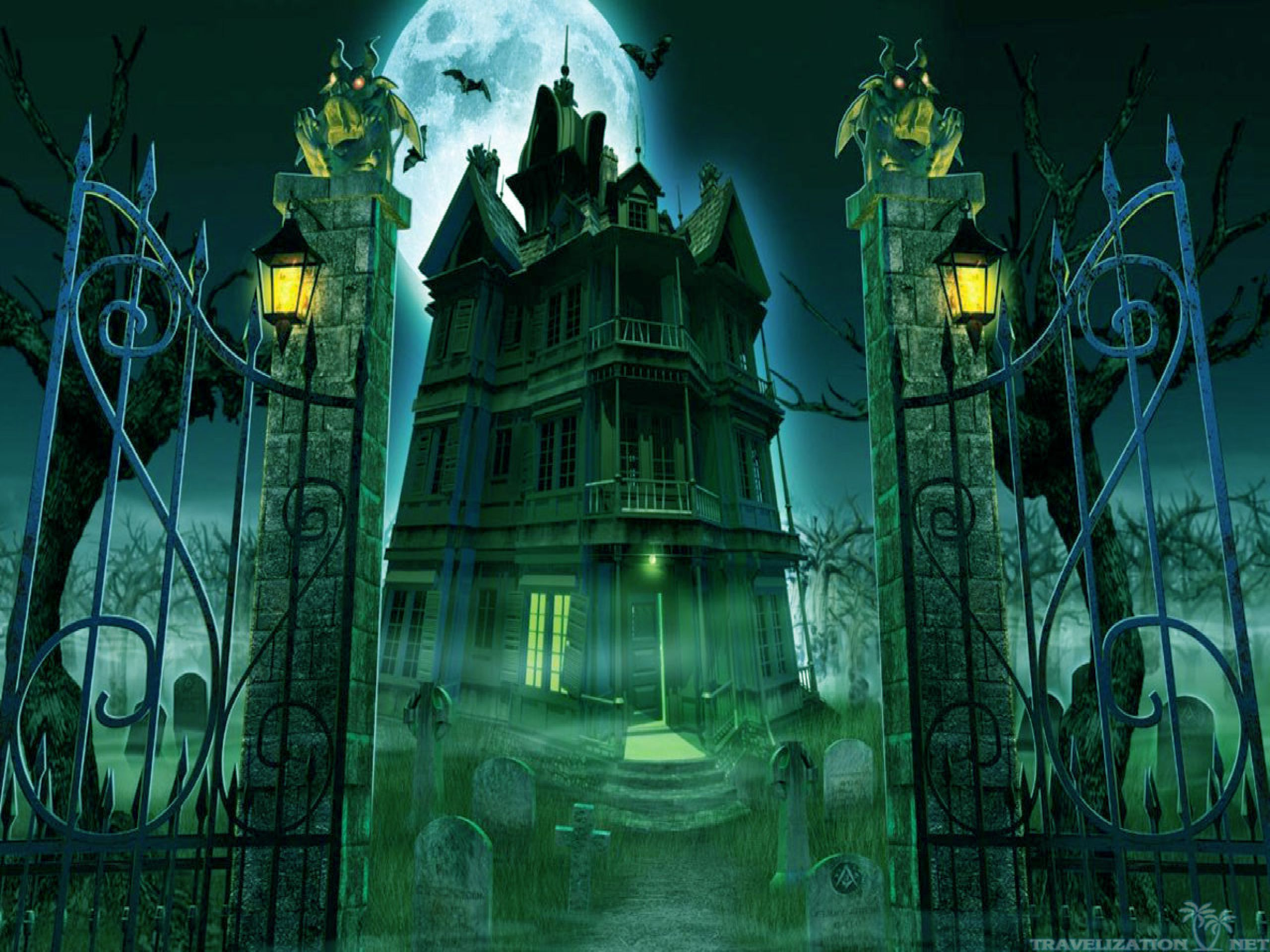 Aliexpress.com : Buy 10x10FT Orange Night Graveyard Cross ...  Halloween Tombstone Background