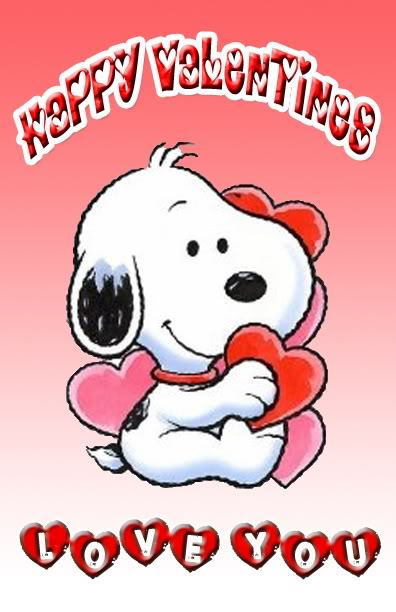 Snoopy Valentines Day Pictures 396x612