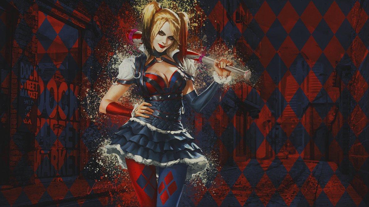 50 Harley Quinn Arkham Knight Wallpaper On Wallpapersafari