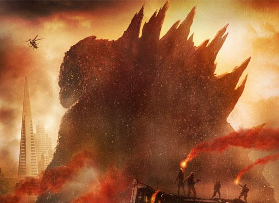 Godzilla Movie 2014 HD iPhone iPad Wallpapers 550x400