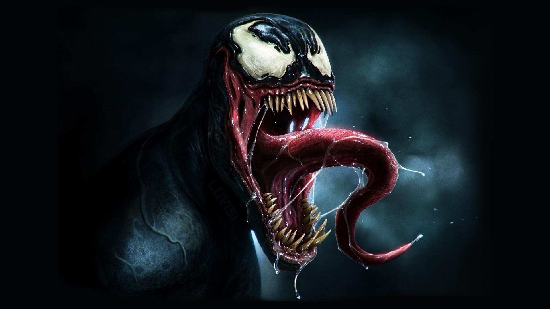 Smile Fangs Marvel comics comics Venom wallpapers and images 1920x1080