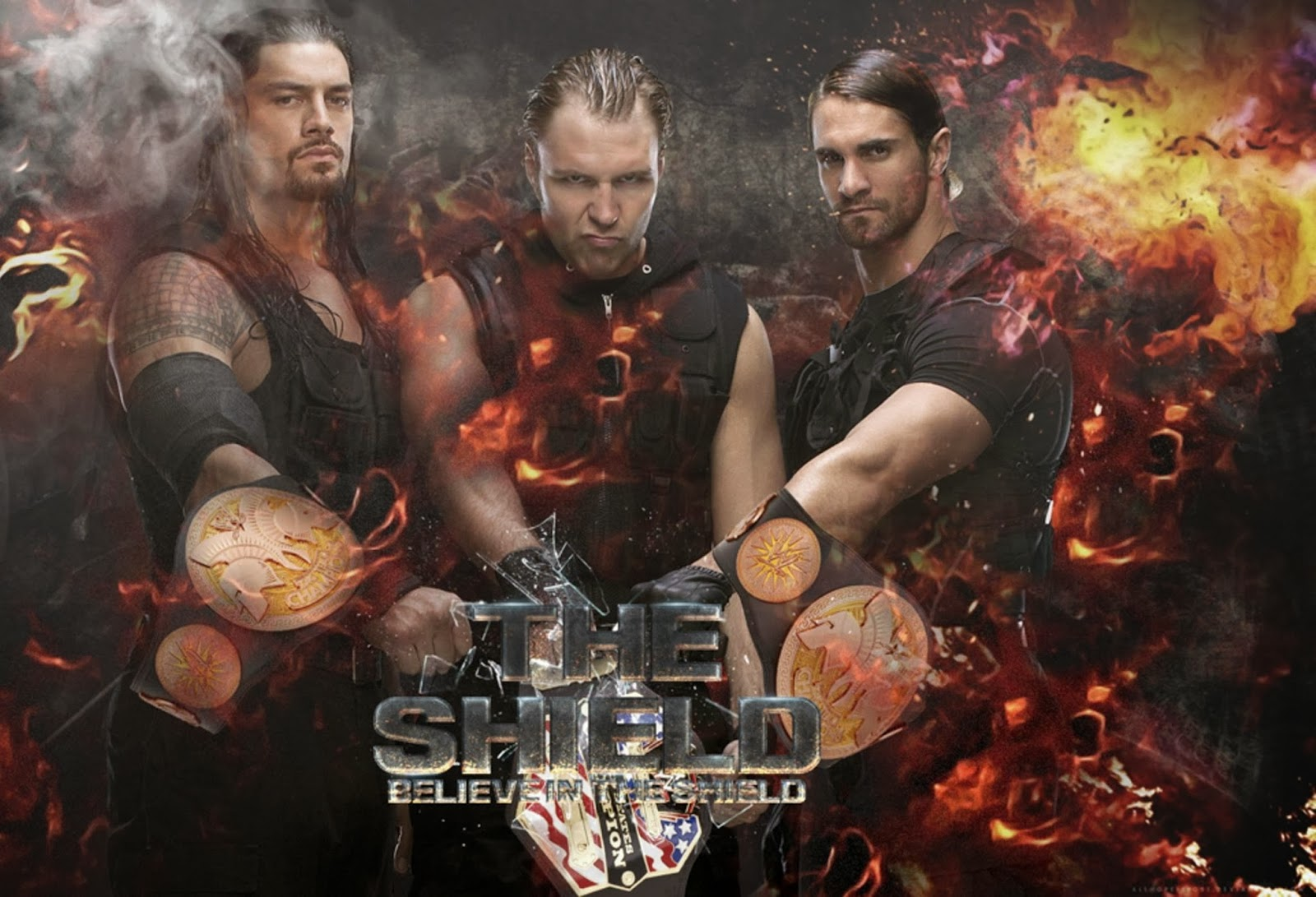 The Shield Hd Wallpapers Download WWE HD WALLPAPER FREE 1600x1091