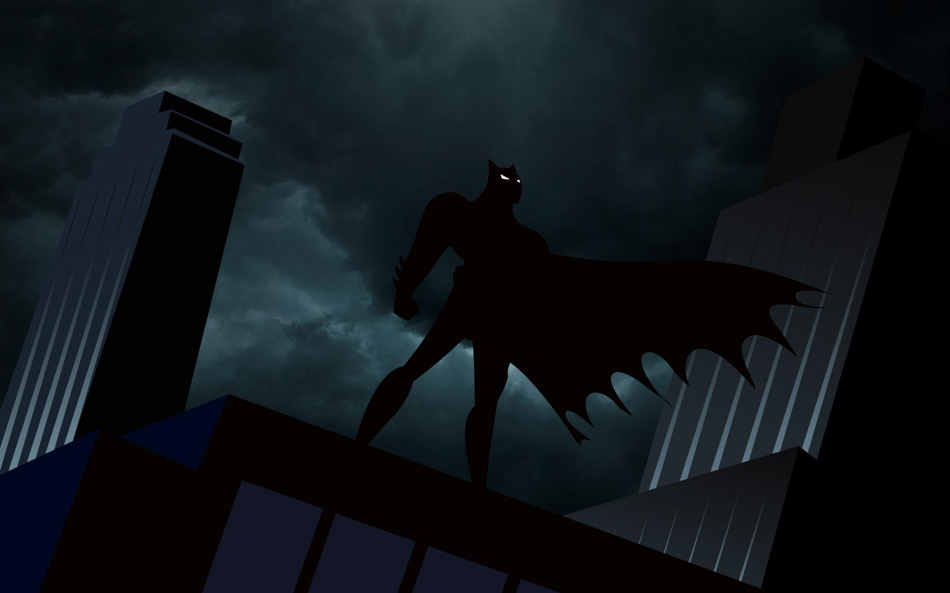 Batman The Animated Series desktop wallpaper 1920x1200