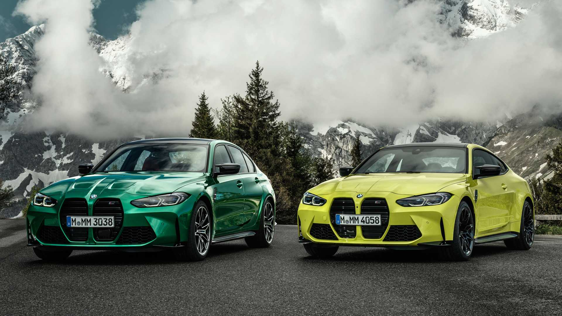 2021 BMW M3 And M4 Revealed Aggressive Looks 503 HP And A Manual 1920x1080