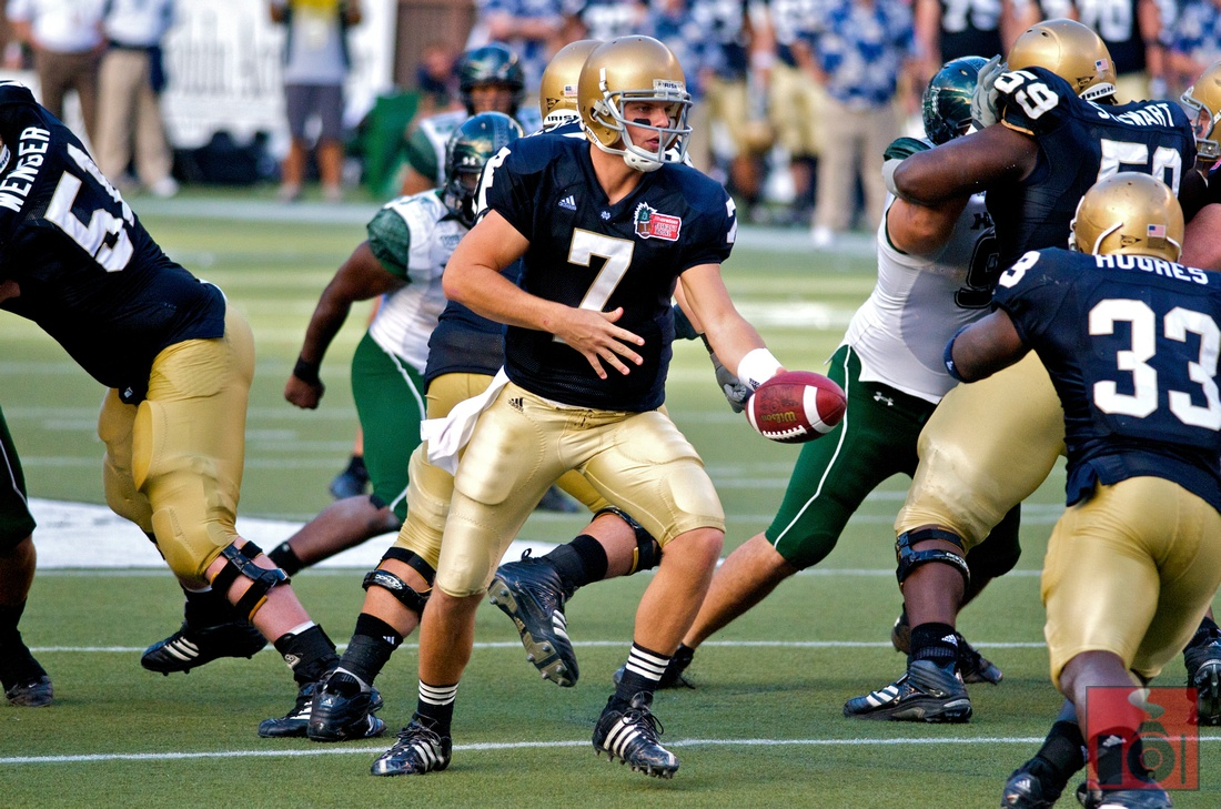 notre dame football wallpaper notre dame football Pictures Desktop 1100x729