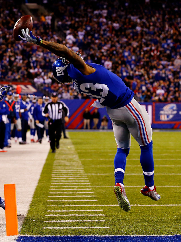 Weve highlighted Giants receiver Odell Beckhams skills before but 636x849