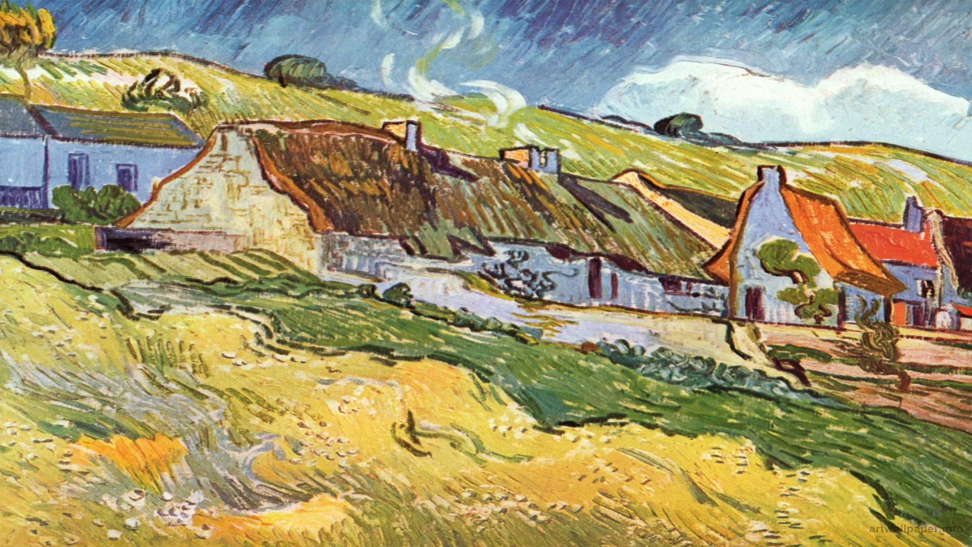 43 Van Gogh Wallpaper Widescreen On Wallpapersafari