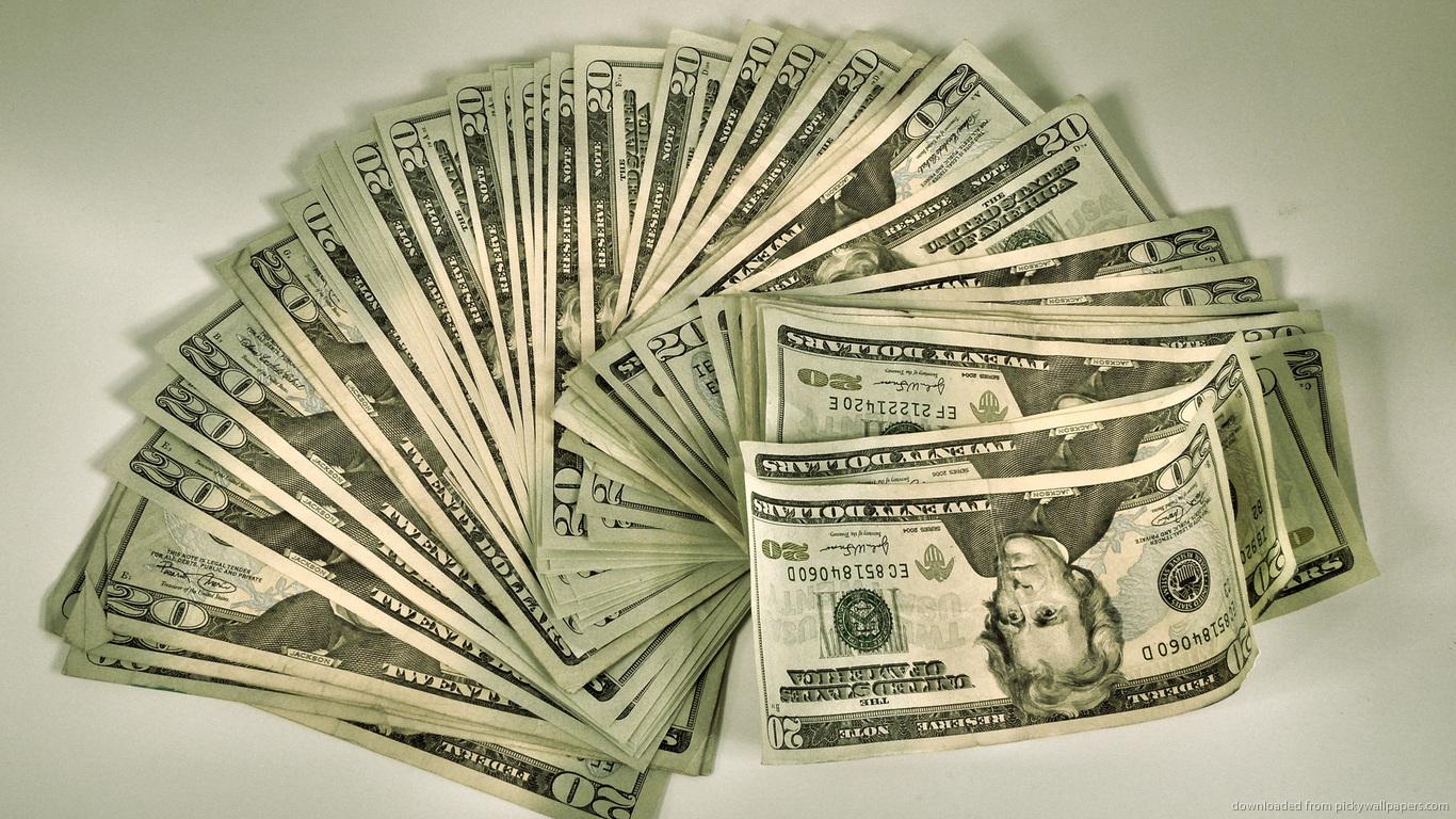 100 Dollar Bill Wallpaper 1366x768