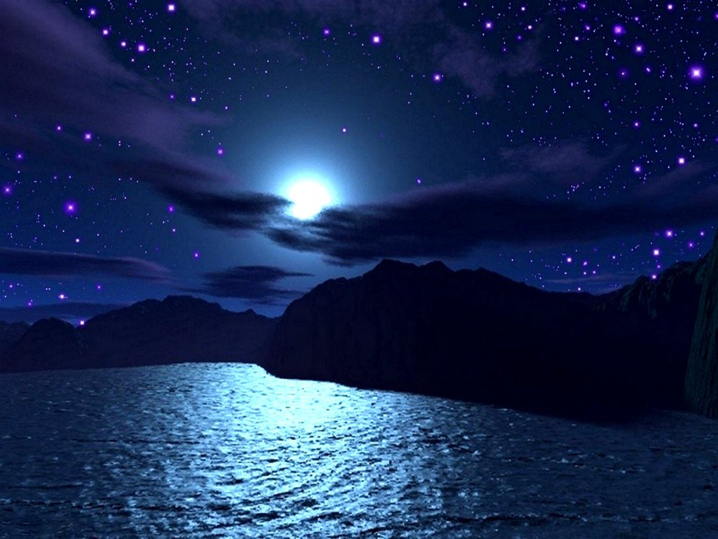 Starry Nights HD Wallpapers Wallpapers Cafe 1024x768