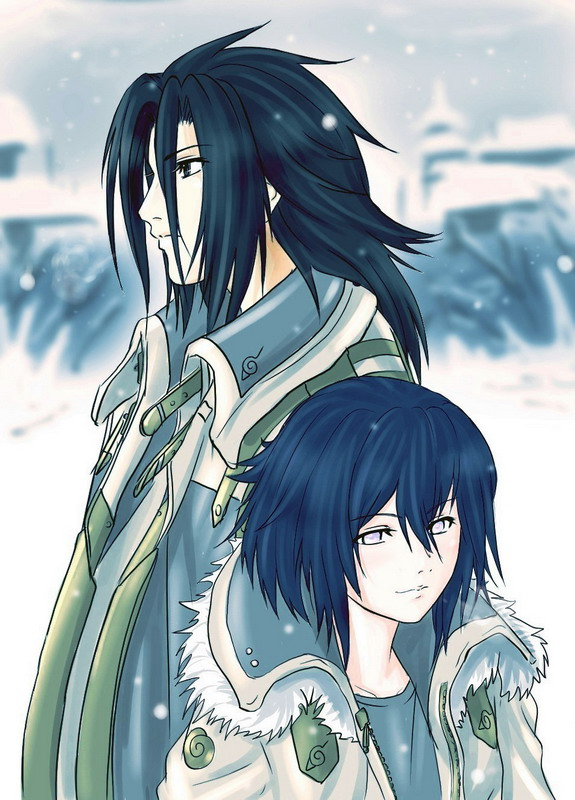 Sasuke and Hinata Kiss httpwwwpic2flycomSasukeandHinataKiss 575x800