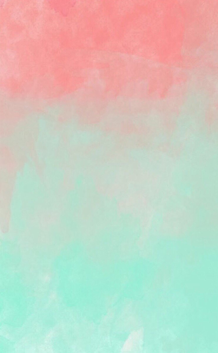 mint and pink wallpaper - photo #8